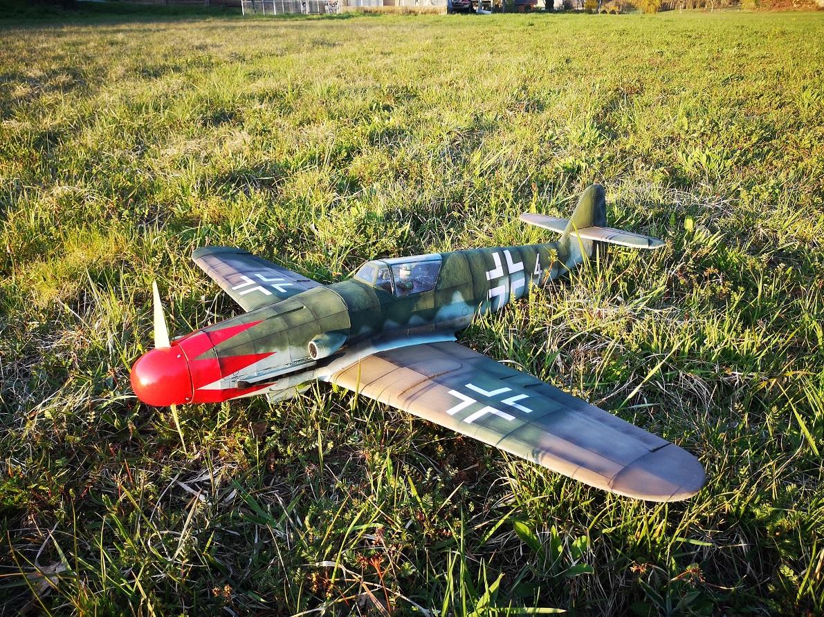 Me 109K 1,16 m styro